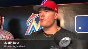 Justin Bour on returning to face the Marlins [Video]