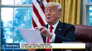 Trump Cancels Labor Day Plans as Canada, China Trade Disputes Loom [Video]