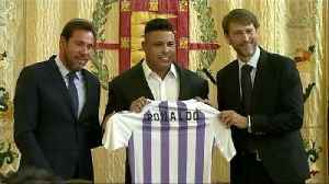 Brazilian Ronaldo buys majority stake in La Liga side Valladolid [Video]