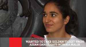Wanted To Take Golden Ticket From Asian Games, Says Monika Malik [Video]