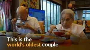 Oldest couple in the world says patience is key to their successful marriage [Video]