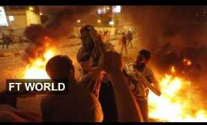 Tension on the streets of Cairo [Video]