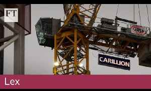 Why Carillion went into liquidation [Video]