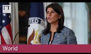 US withdraws from UN Human Rights Council [Video]