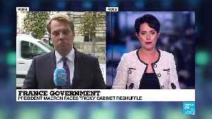 French President Macron faces tricky cabinet reshuffle [Video]