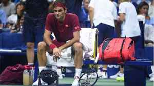 Roger Federer Got Soaked [Video]