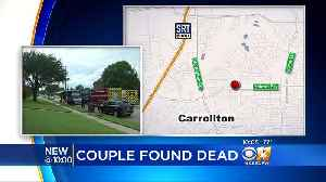 Carrollton Police Use Drone To Discover Murder-Suicide [Video]