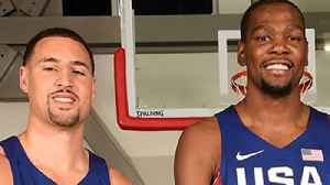Lakers ACCUSED of TAMPERING to Get Kevin Durant & Klay Thompson! [Video]