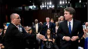 Brett Kavanaugh Turned Away As Parkland Shooting Victim's Father Tries To Shake Hands [Video]