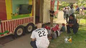 Rockies' Iannetta Helps Teaches Small Students About Fire Safety [Video]