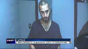 Man charged with murder in stabbing death of a grandfather at Utica park [Video]