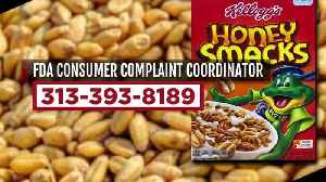 CDC warns don't eat Honey Smacks cereal as Salmonella outbreak continues [Video]