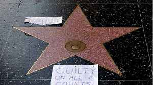 Bill Cosby's Hollywood Star Vandalized [Video]