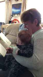 Scottish Granny Reads Hilarious Story [Video]