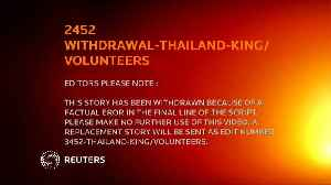 Millions of Thais sign up to volunteer for the king [Video]