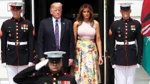 Melania Trump's Back-To-School Question for Students Sparks Controversy [Video]