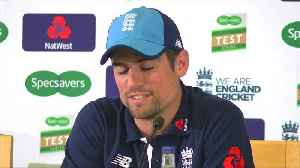 England's Cook cried when he told team mates of retirement [Video]