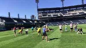 Reporter Update: Pirates Host Miracle League Fantasy Camp On Roberto Clemente Day [Video]