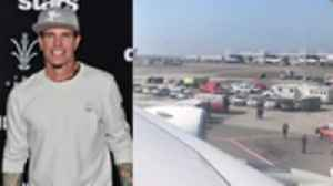 Vanilla Ice Was Aboard Quarantined Plane at JFK: This Is Crazy [Video]