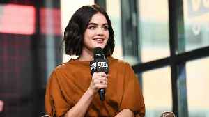 Lucy Hale Touches On The Pressures Of Social Media [Video]
