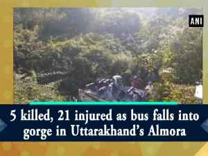 5 killed, 21 injured as bus falls into gorge in Uttarakhand's Almora [Video]