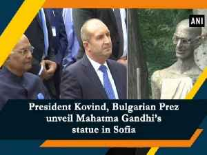 President Kovind, Bulgarian Prez unveil Mahatma Gandhi's statue in Sofia [Video]