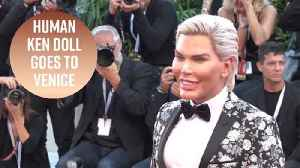 Human Ken doll tries to redeem himself at Venice after Big Brother fiasco [Video]