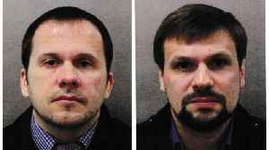 Two Russians charged in Skripal Novichok poison case [Video]