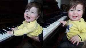 Is this baby the new Chopin? [Video]