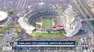 City of Oakland filing lawsuit against Raiders [Video]