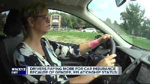 Drivers paying more for car insurance because of gender, relationship status [Video]