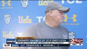 Sooners a 30.5 point favorite as Chip Kelly and UCLA come to town [Video]
