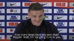Kieran Trippier admits he's watched his World Cup semi-final wonder goal 100 times [Video]