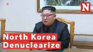 Kim Jong Un Wants To Denuclearize Before Trump's First Term Ends [Video]