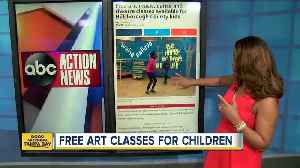 Free art, music, dance and theatre classes available for Hillsborough County kids [Video]