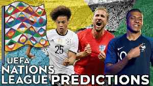 UEFA NATIONS LEAGUE PREDICTIONS | Something For The Weekend [Video]