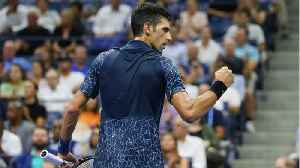 Djokovic Beats Heat And Millman to Reach U.S. Open Semis [Video]