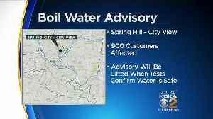 About 900 Customers Under Boil Water Advisory In Spring Hill-City View Area [Video]