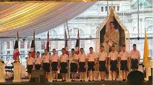 Thai Boys Trapped In Cave Honored By Prime Minister [Video]