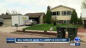 Fountain man finds holes in insurance coverage after hail, asbestos damage [Video]