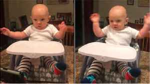Shakira song has surprising effect on baby [Video]