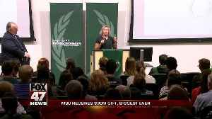 MSU gets largest single gift from individual in university's history [Video]