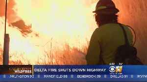 Main California Highway Closed By Fire Until Declared Safe [Video]