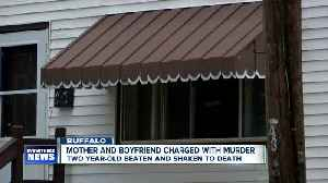 Mother and boyfriend charged with murder in death of two year-old [Video]