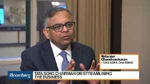 Tata Sons Chairman on Consolidation and Future of Jaguar [Video]