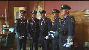 Braintree Officers Given State's Top Award For Bravery After Motel 6 Shootout [Video]