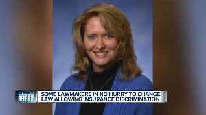 Some lawmakers in ho hurry to change law allowing insurance discrimination [Video]