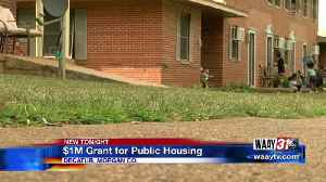 Decatur Housing Authority receives one million dollar grant [Video]