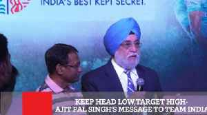 Keep Head Low,Target High- Ajit Pal Singh's Message To Team India [Video]