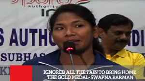 Ignored All The Pain To Bring Home The Gold Medal  Swapna Barman [Video]